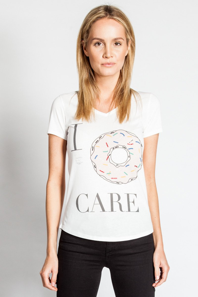Donut Strass Shirt Hope