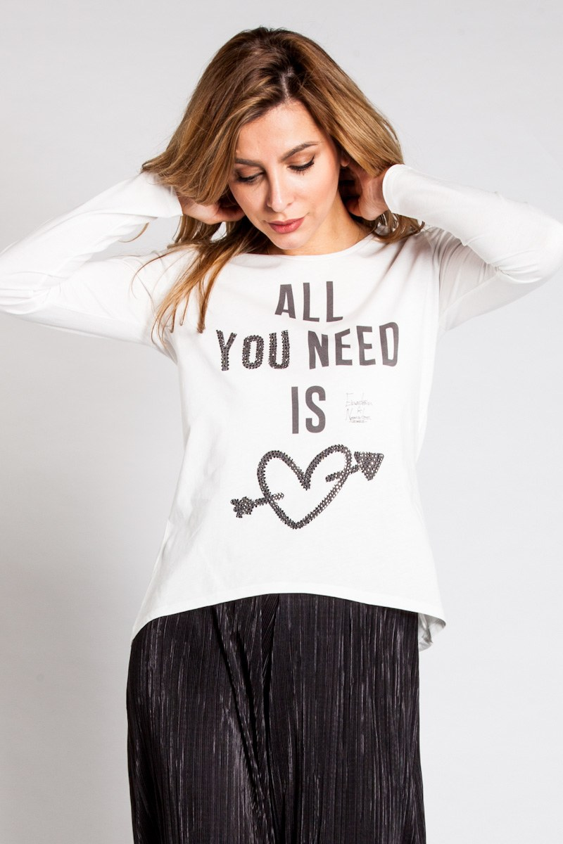 All You Need Strass Longsleeve Diamond