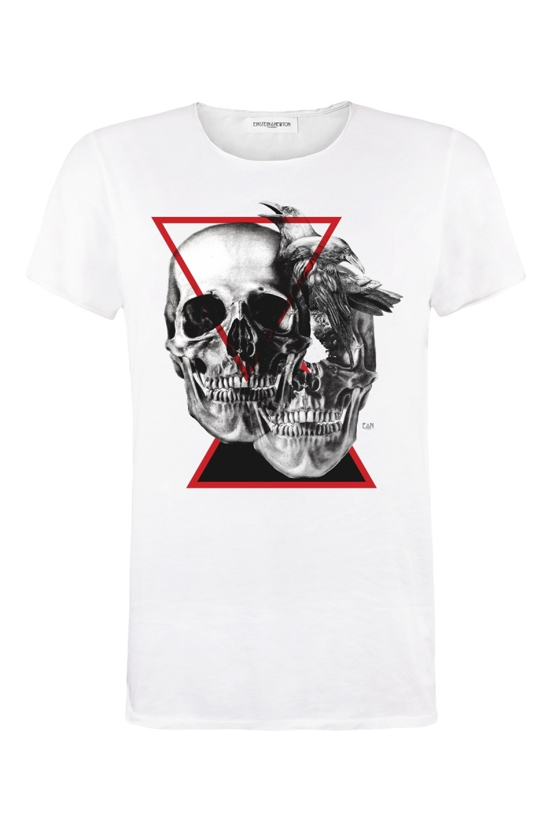 Crow Skull T-Shirt Bass