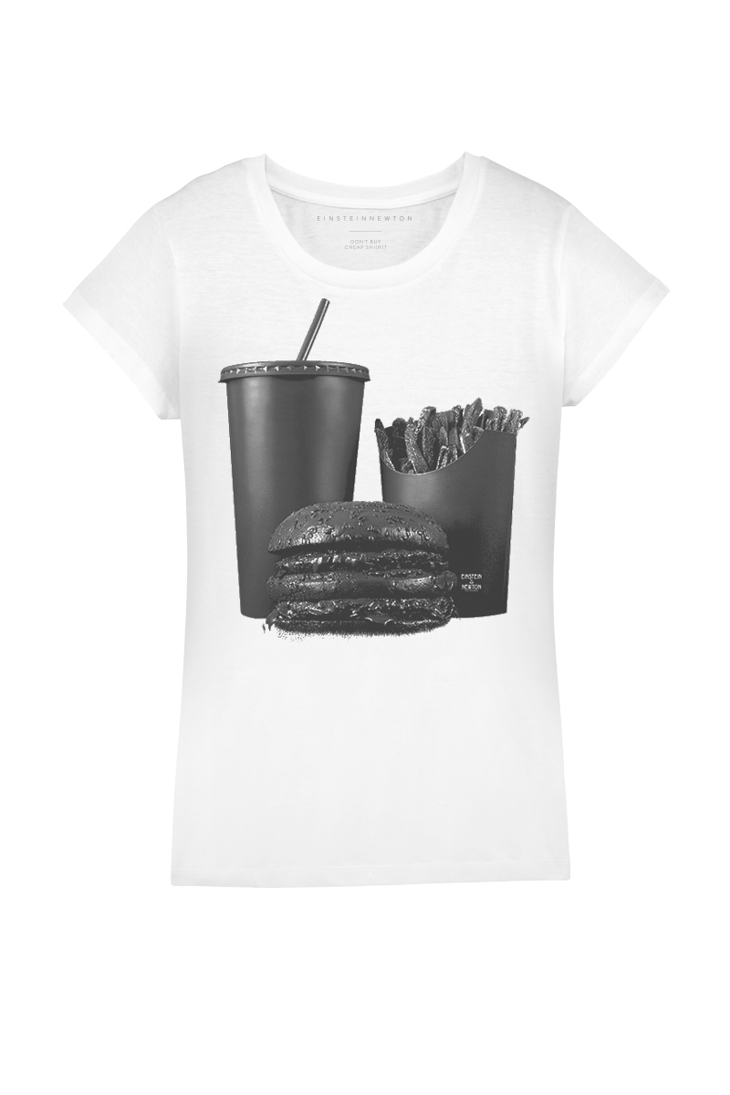 Black Burger T-Shirt Rodeo