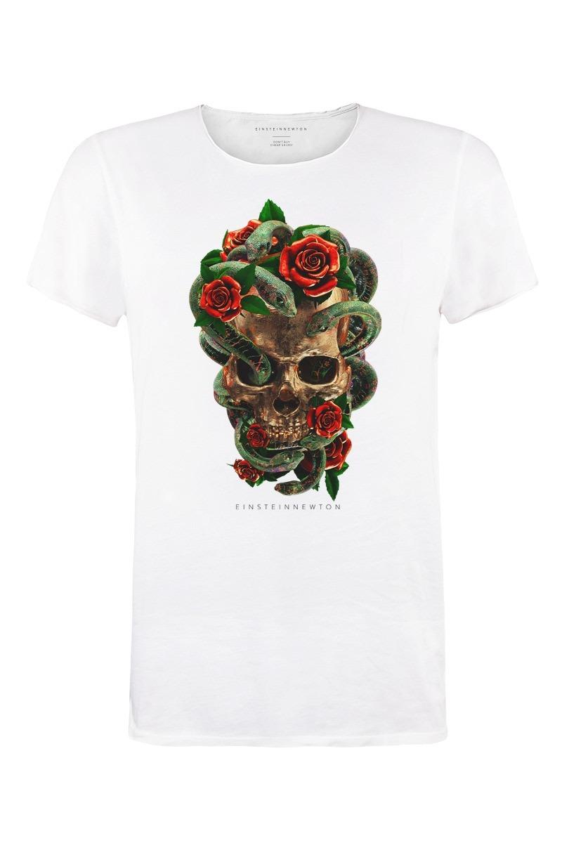 Roses n Snakes T-Shirt Bass