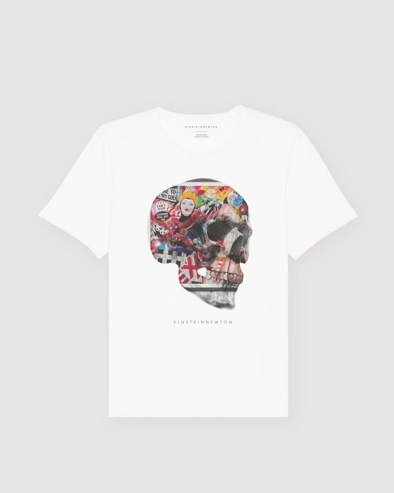 Art Skull T-Shirt Bass