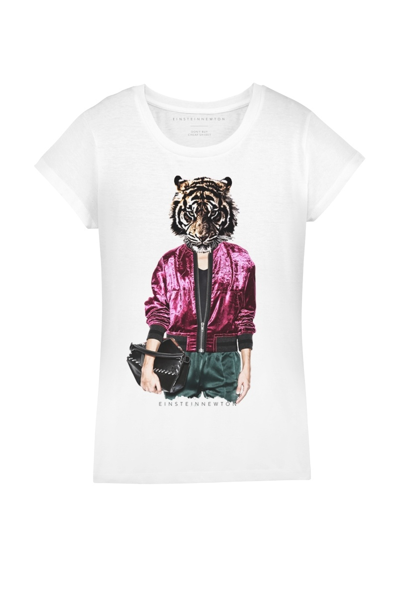Fancy Tiger T-Shirt Rodeo