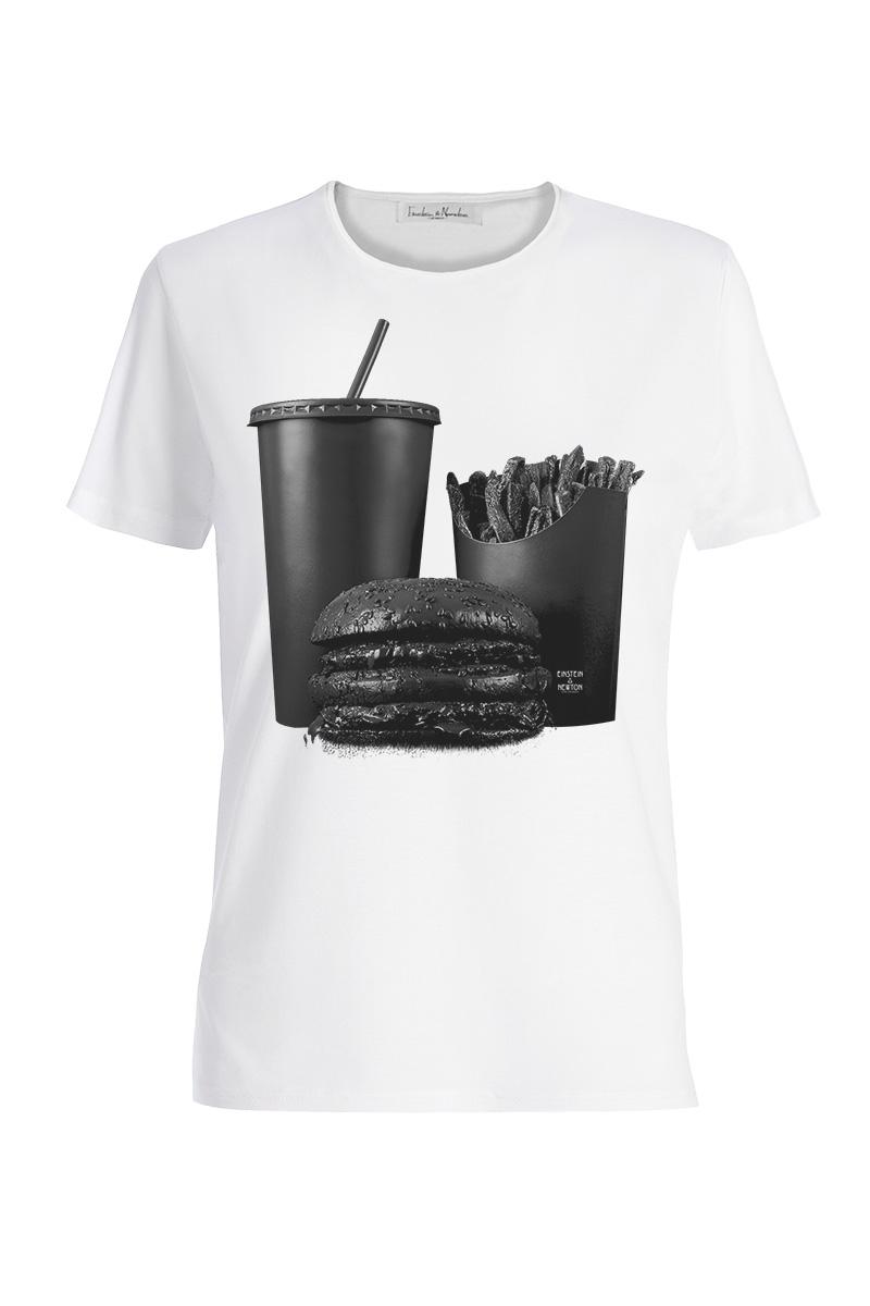 Black Burger Shirt Rodeo