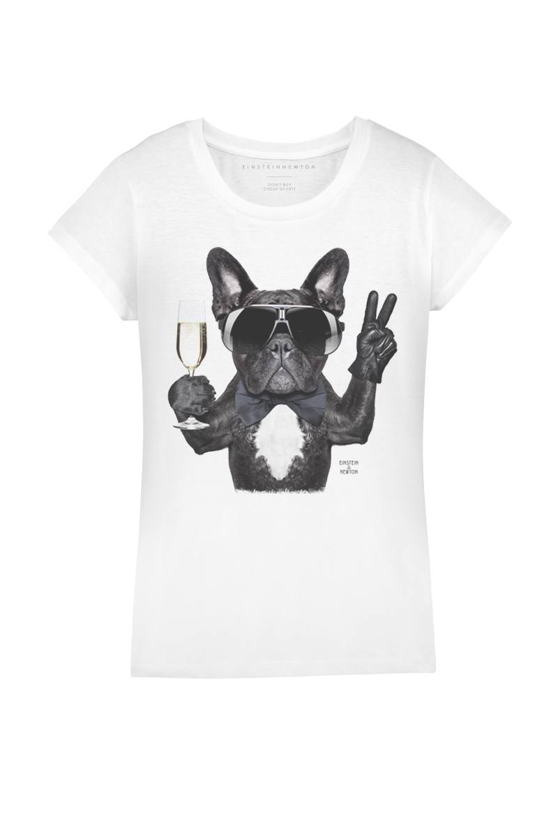 Champagne Dog T-Shirt Rodeo