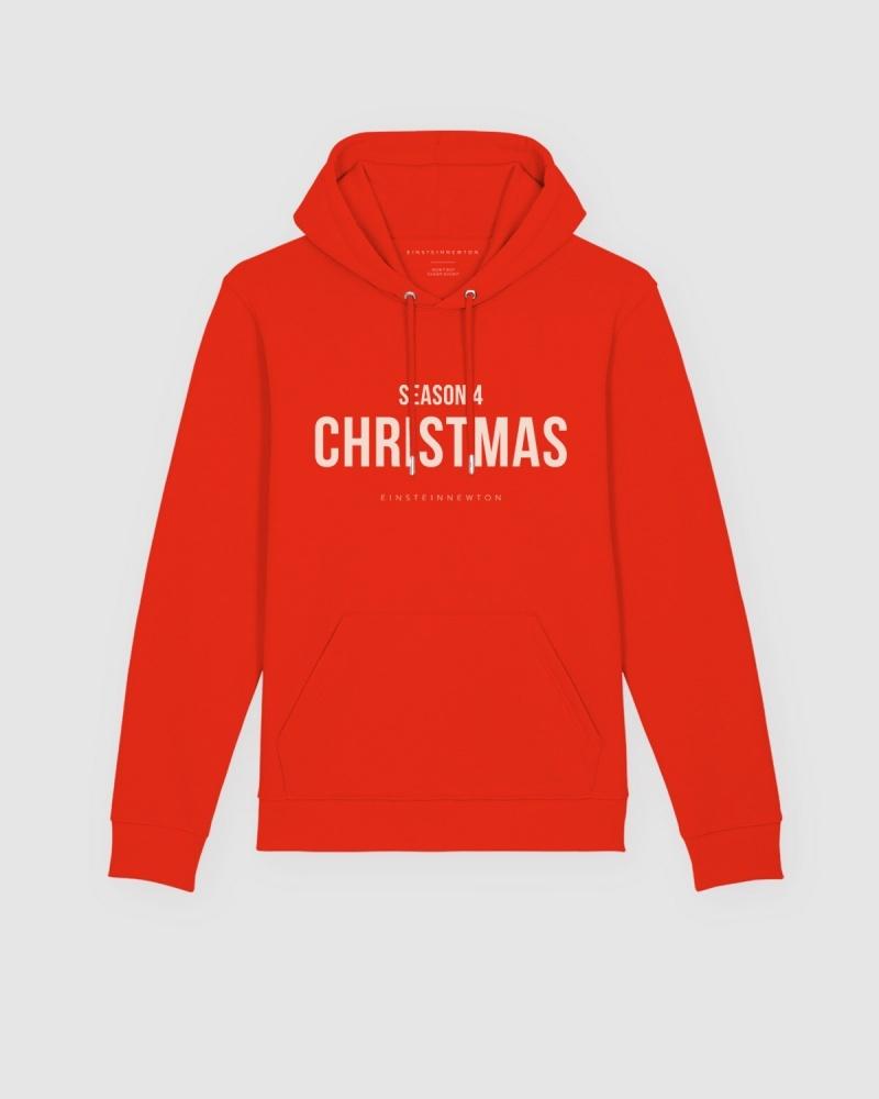 Christmas Hoodie Brun Hilde