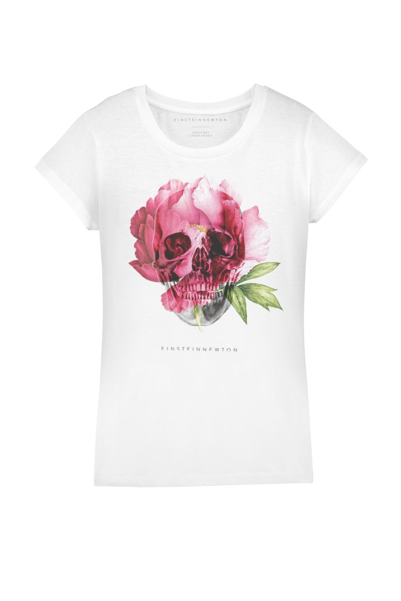 Floral Skull T-Shirt Rodeo