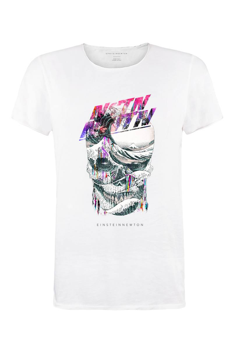 Waveskull T-Shirt Bass