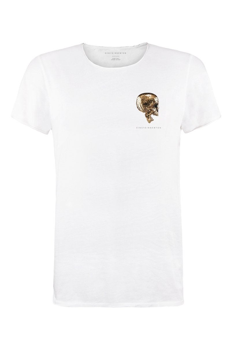 Goldskull Chest T-Shirt Bass
