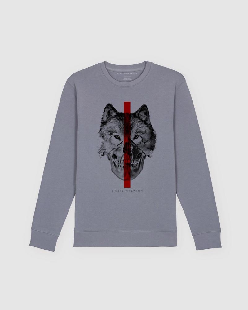 Wolfskull Sweatshirt Herr Kules