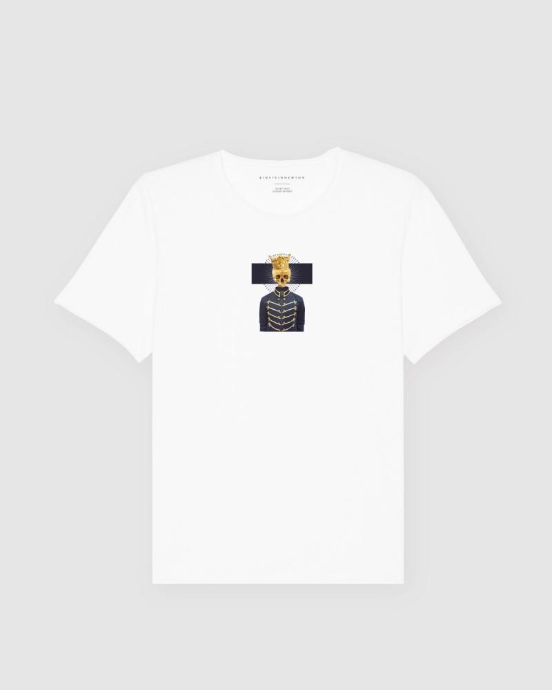 Golden Skull T-Shirt Bass
