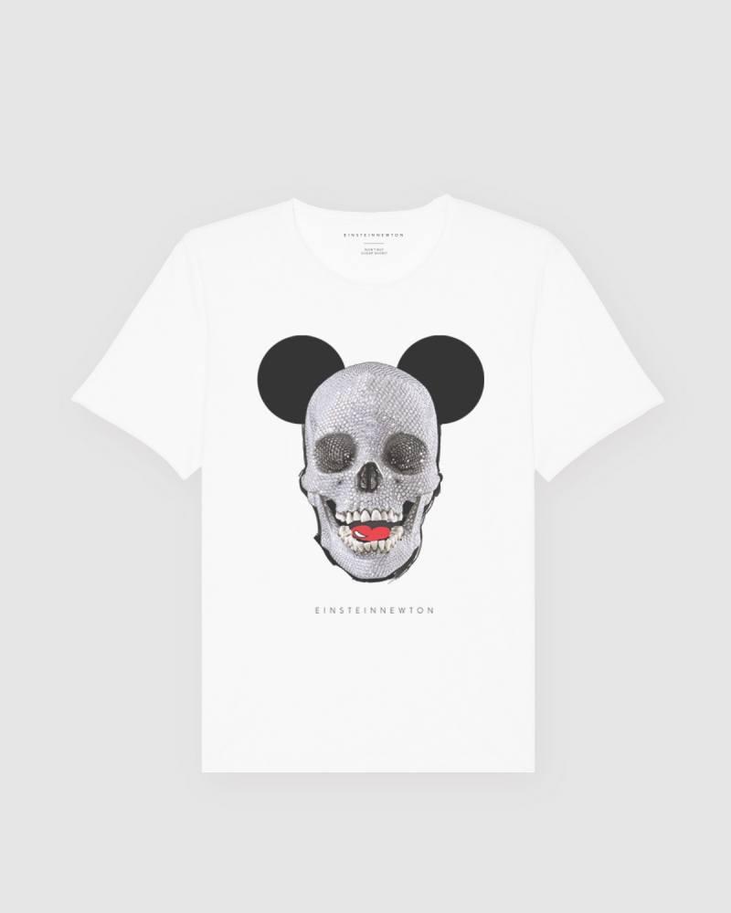 Skull Mouse T-Shirt Bass