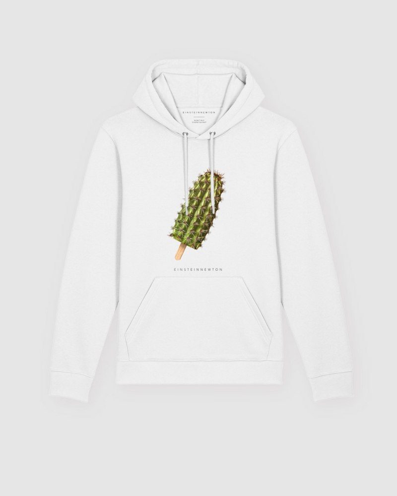 Cactus Ice Hoodie Brun Hilde