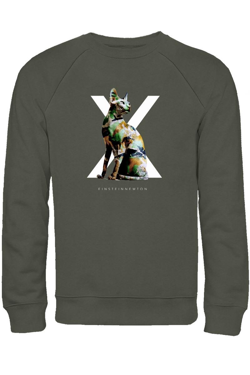 Green Sphynx Sweatshirt Herr Kules