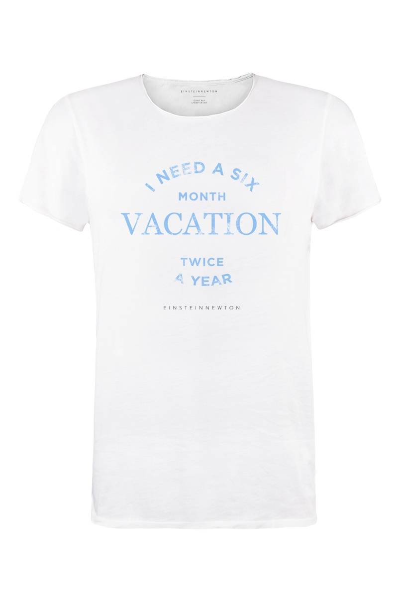 Blue Vacation T-Shirt Bass