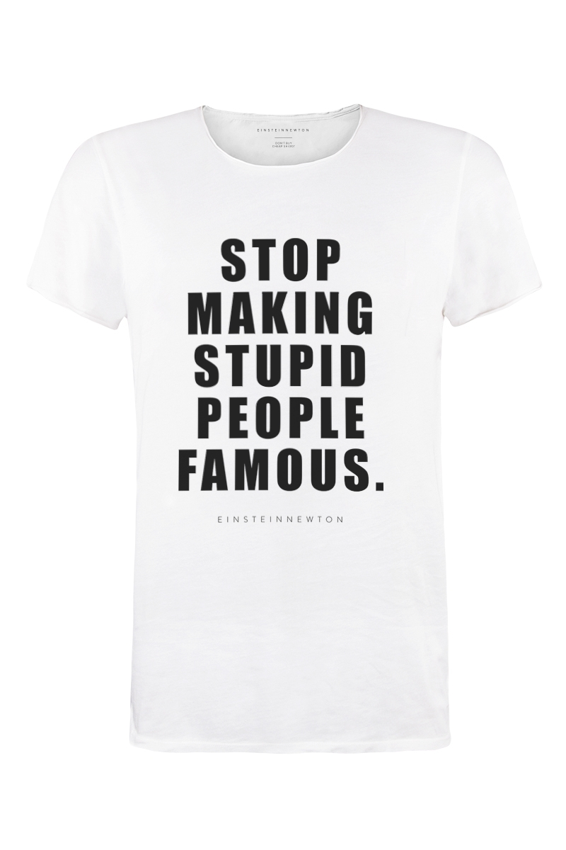 Stupid People T-Shirt Bass
