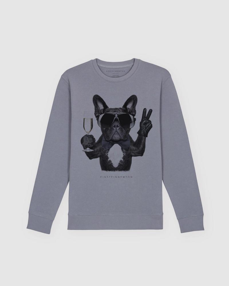 Champagne Dog Sweatshirt Klara Geist