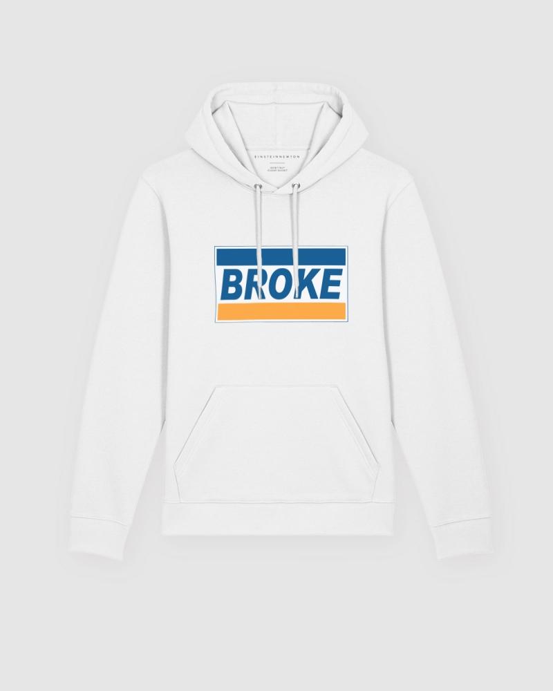 Broke Hoodie Brun Hilde