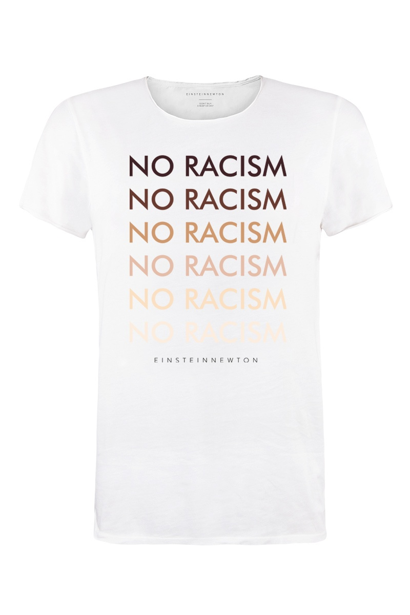 No Racism T-Shirt Bass