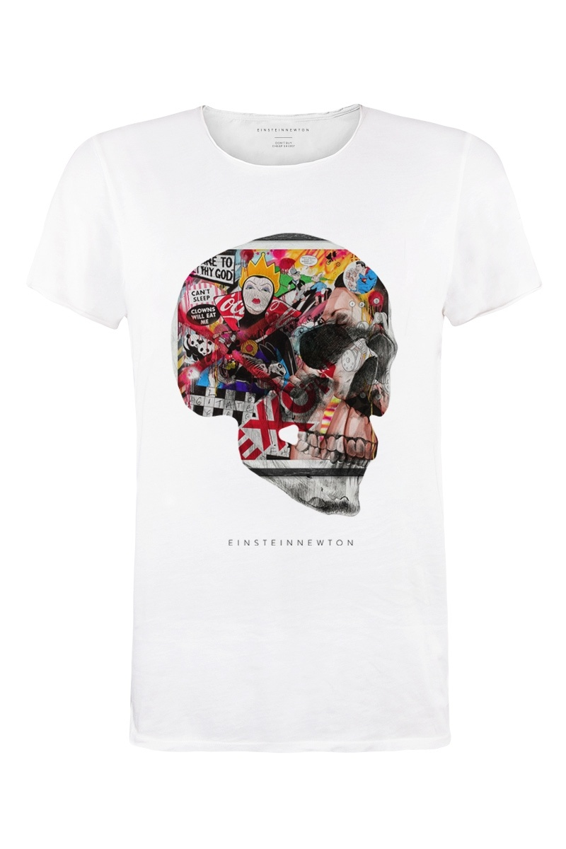 Art Skull T-Shirt Bass