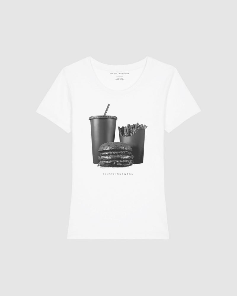 Black Burger T-Shirt Rodeo
