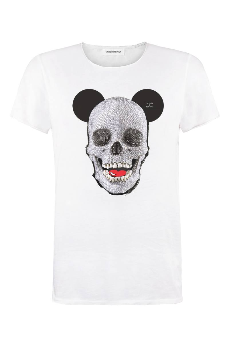 Skull Mouse T-Shirt Bass