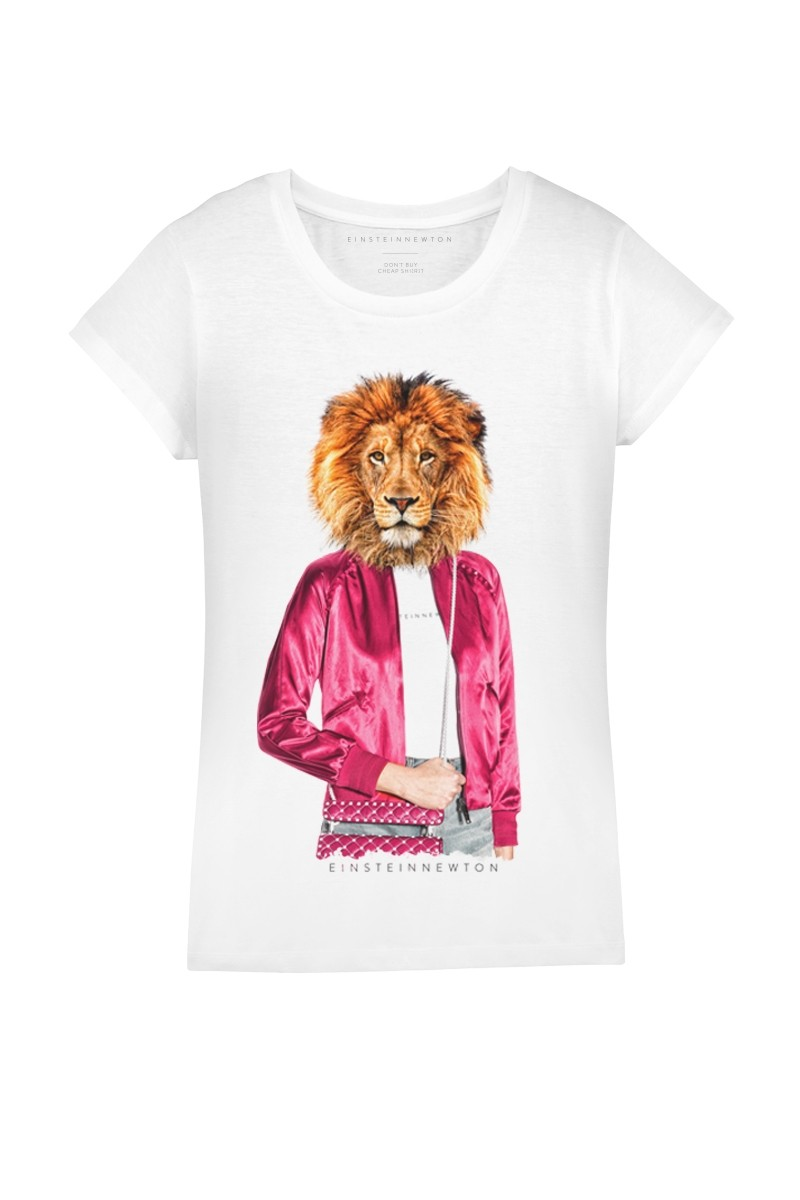 Pink Lion T-Shirt Rodeo