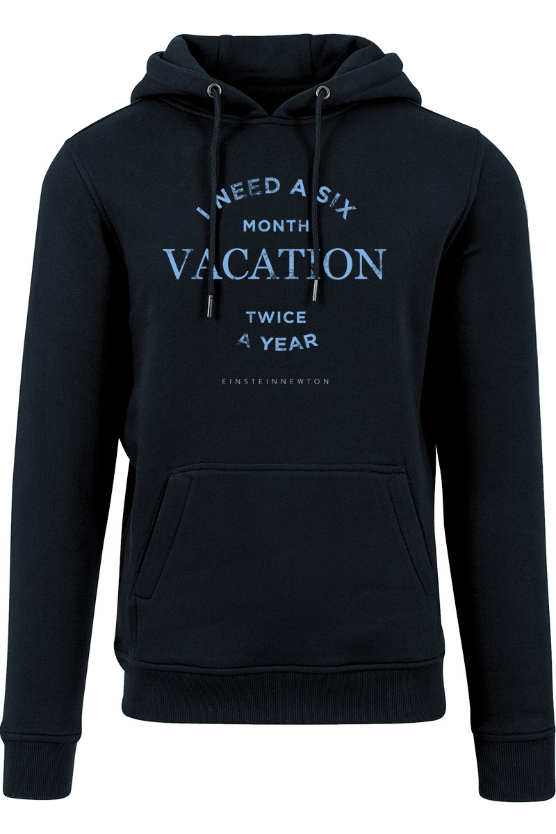 Blue Vacation Hoodie Nico Tin