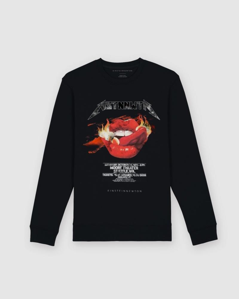 Flames Sweatshirt Herr Kules