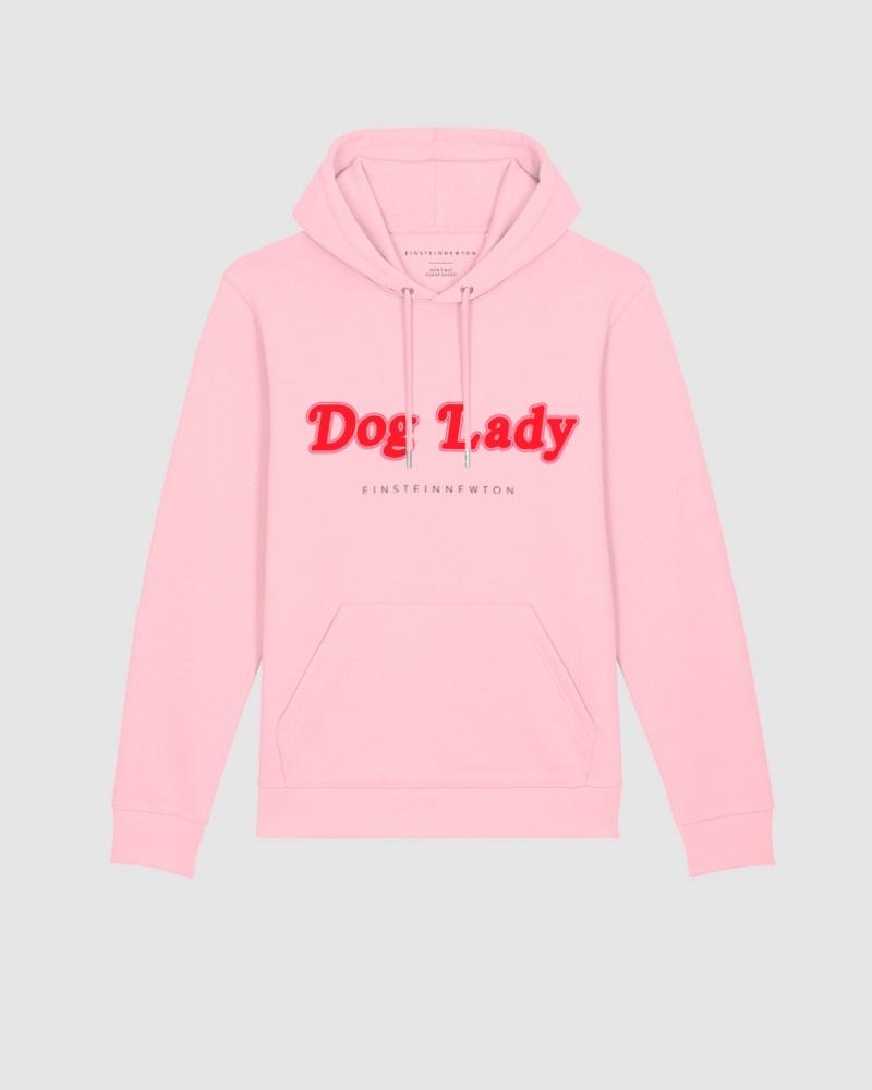 Dog Lady Hoodie Brun Hilde