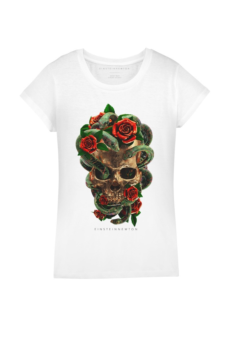Roses n Snakes T-Shirt Rodeo