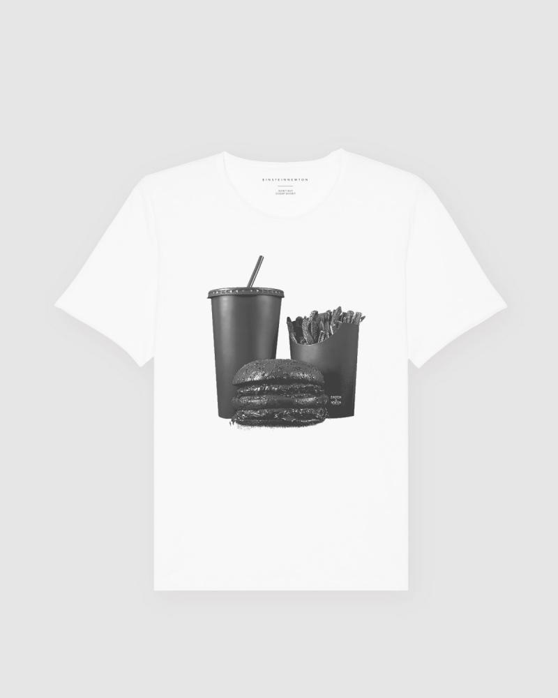 Black Burger T-Shirt Bass