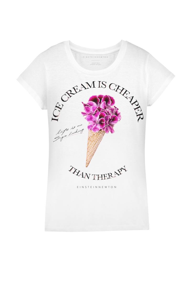 Color Cream T-Shirt Rodeo