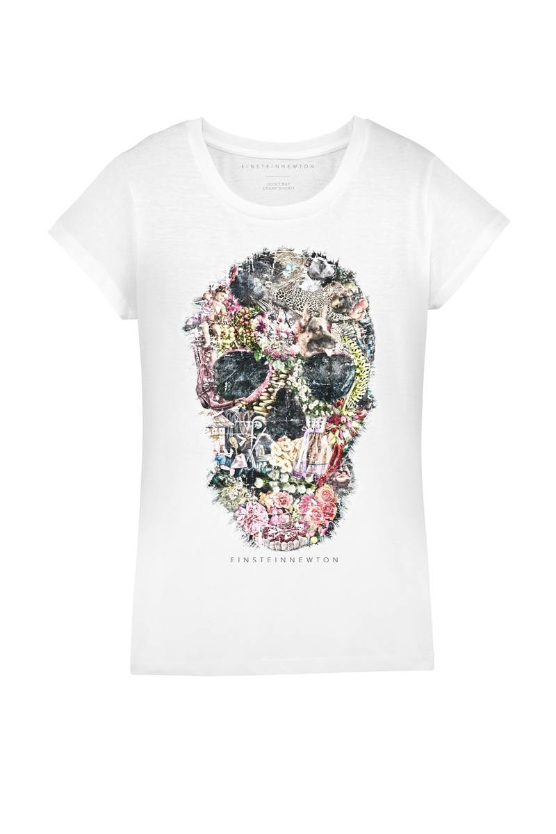 Crazy Skull T-Shirt Rodeo