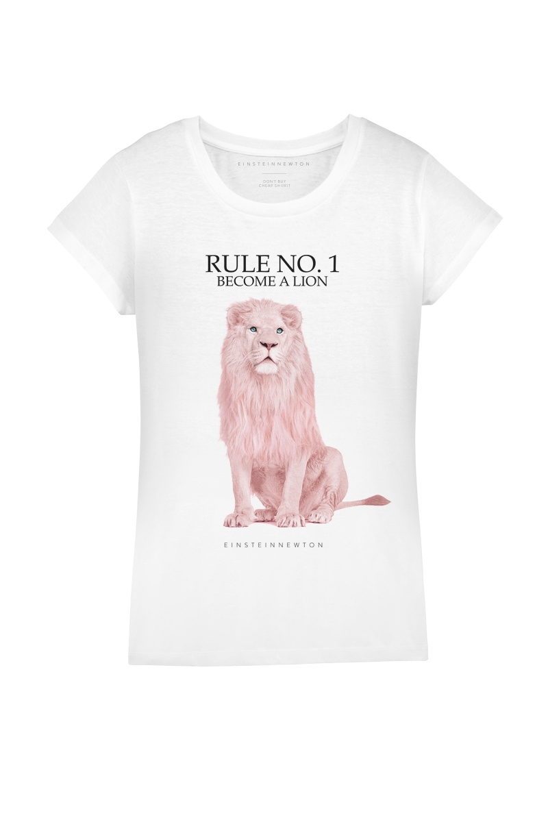 Rose Lion T-Shirt Rodeo