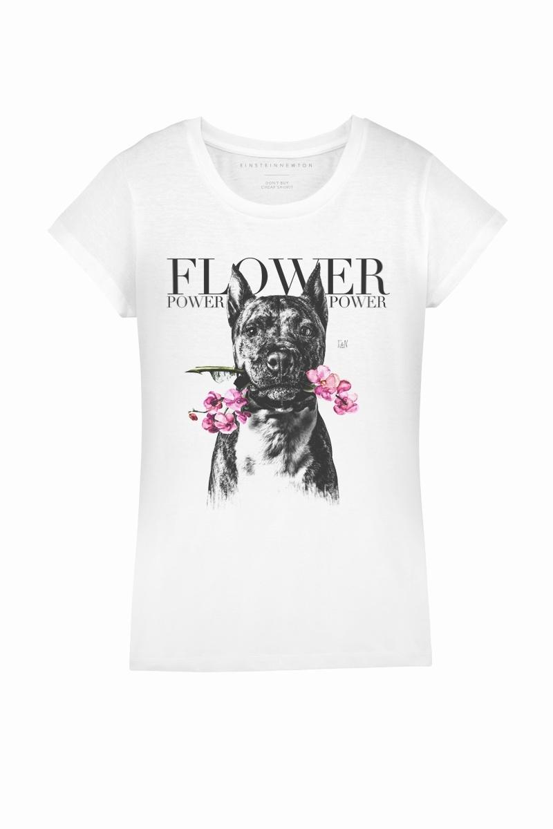 Flower Dog Shirt Rodeo