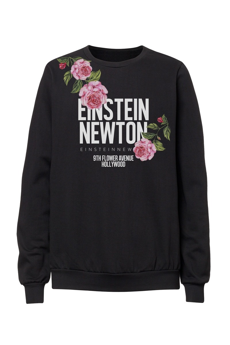 Logo Flower Sweater Raise