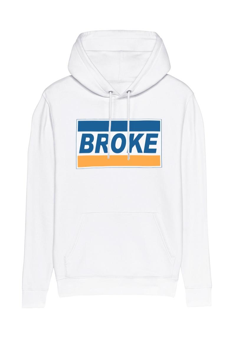 Test Broke Hoodie Brun Hilde