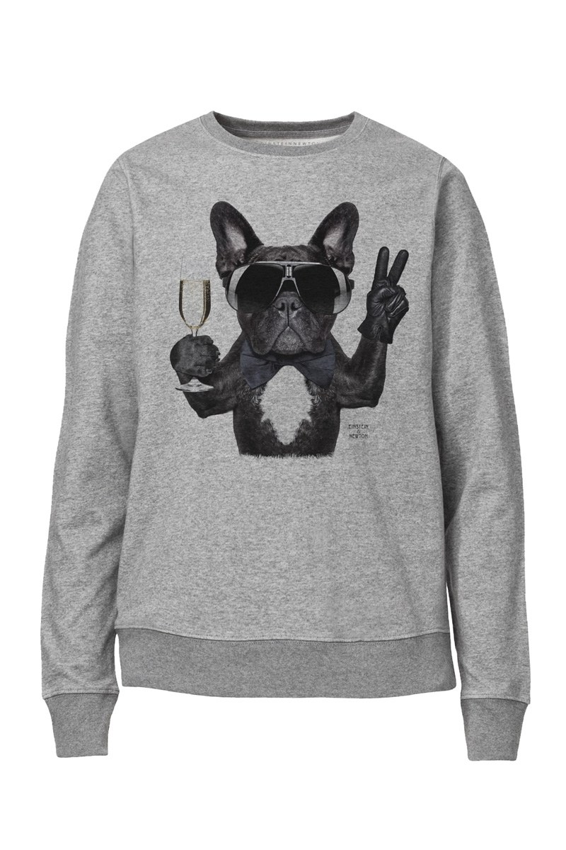 Champagne Dog Sweater Raise