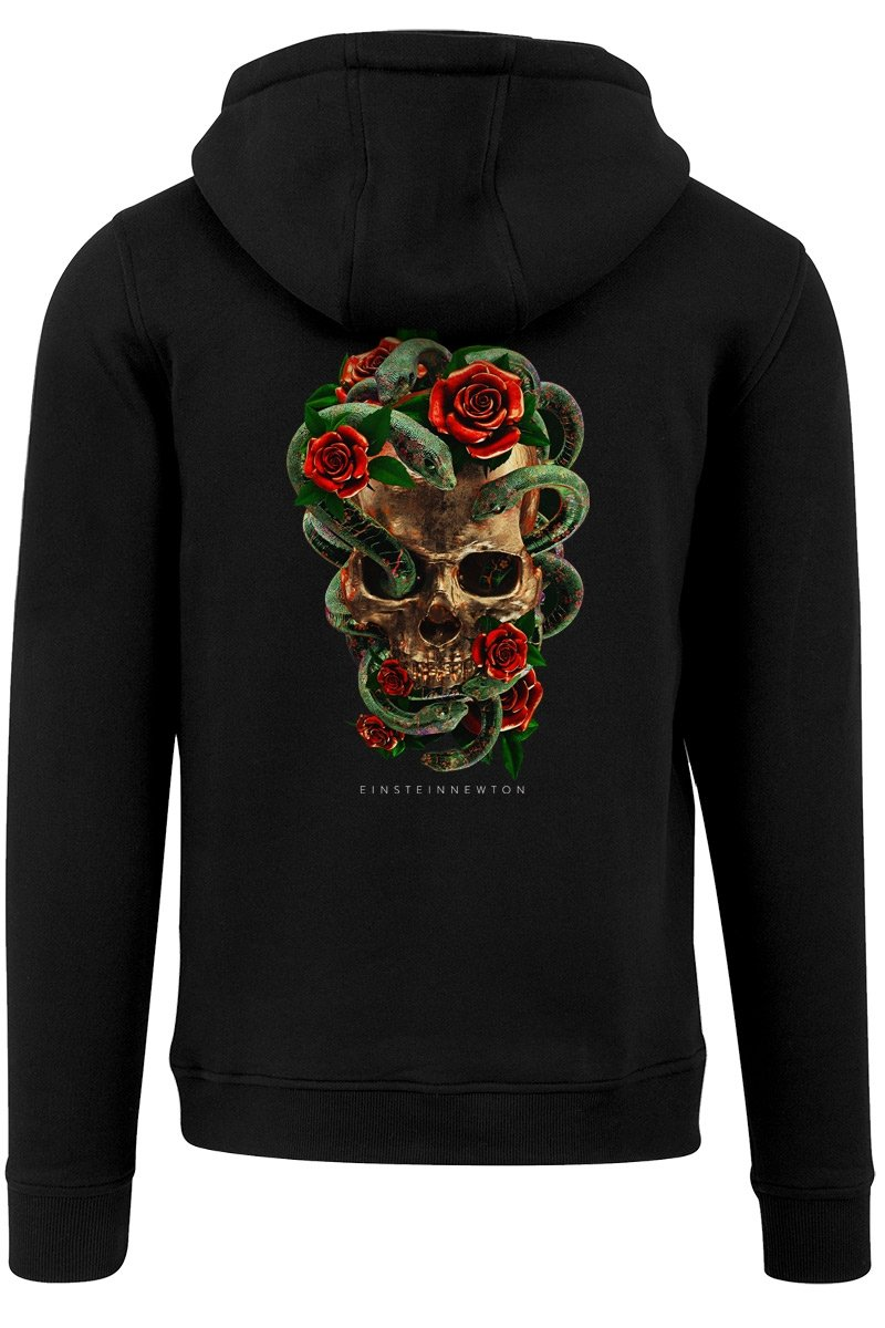 Roses n Snakes Zipper Balboa