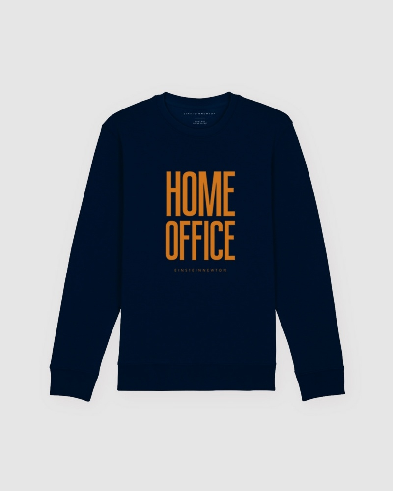 Home Office Orange Sweatshirt Herr Kules